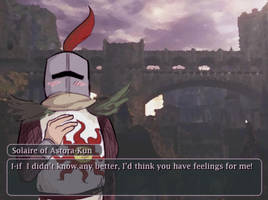 Solaire - Lonley in Lordran by Novacevia