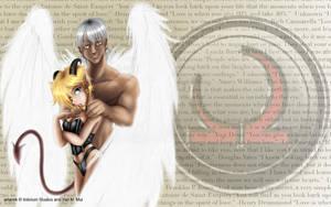 Demon-Angel Wallpaper by KanonFodder