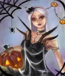 Halloween Girl by M316