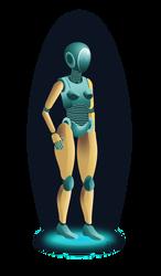 Robot by DeeRose