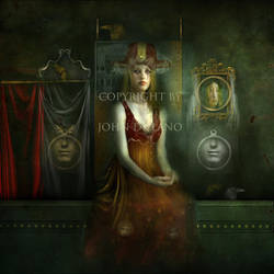 Her hidden shrine by JohndeLano