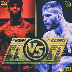 Matchup - Instant - Promo - UFC FN London - Manuwa by RowdyDynasty