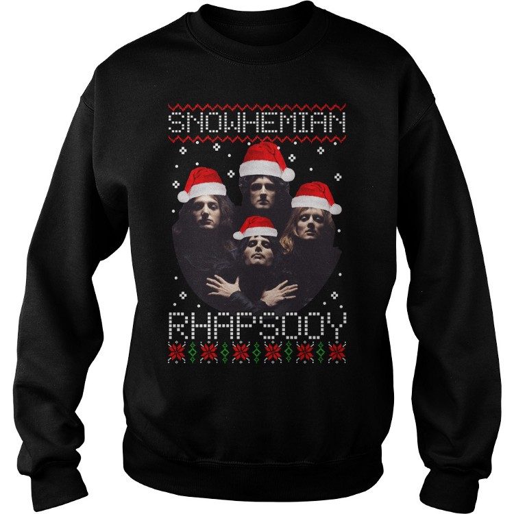 Dc Christmas Sweater.Snowhemian Rhapsody Christmas Sweater By Thammedium1 On