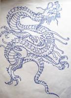 Oriental Dragon by MarmiteBoosh