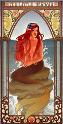 The Little Mermaid by Hannah-Alexander