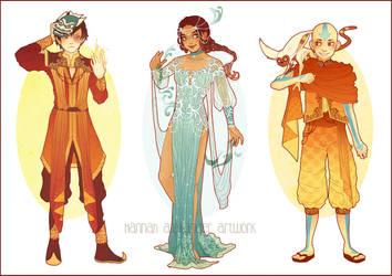 Avatar: Costume Designs by Hannah-Alexander