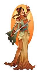 Mulan Redesign V2 with Yaya Han by Hannah-Alexander