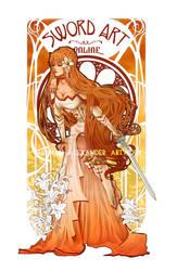 Blanc Lys by Hannah-Alexander