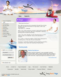 Layout for Yoga by vinkrins