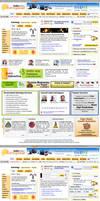Astrology website layout by vinkrins