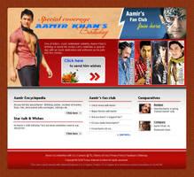Aamir's bday page by vinkrins