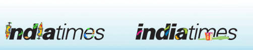 Holi special logos, IndiaTimes by vinkrins