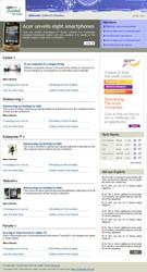 Newsletter design by vinkrins