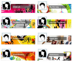Blog band strips for TimesBlog by vinkrins