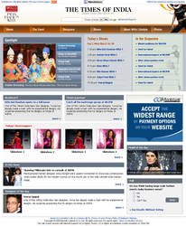 Fashion Website layout 2 by vinkrins