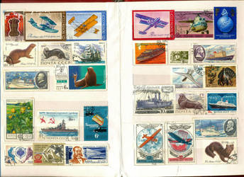 Postage Stamp Collection 5 by vinkrins
