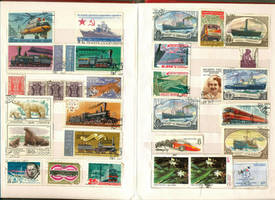Postage Stamp collection 6 by vinkrins