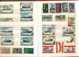Postage Stamp collection 7 by vinkrins