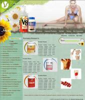 web interface,vitamins factory by vinkrins