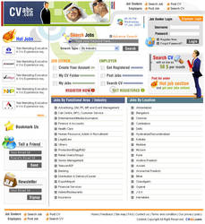 CV Abc, Job Portal by vinkrins