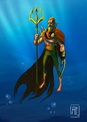 Aquaman!! by Ade21