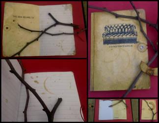 Antique Traveler's Journal by Dragon-lu-ver
