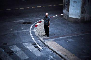 A Man Alone by Fayetography