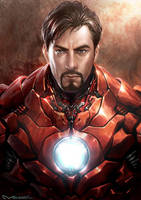 Iron Man by kamiyamark