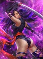 Psylocke by kamiyamark