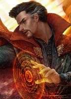Doctor Strange by kamiyamark