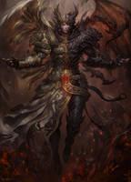 Angel Demon by kamiyamark