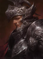 Old Knight by kamiyamark
