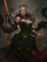Dark Queen by kamiyamark