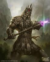 the Granite King by kamiyamark