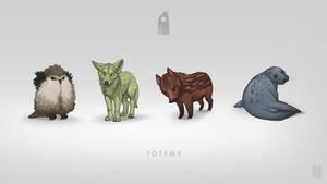 Mystfell Totems by Shapooda