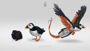 Puffin Phoenix by Shapooda