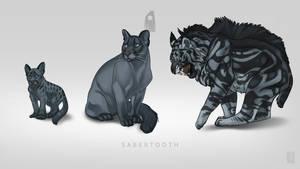 Sabertooth Pet by Shapooda