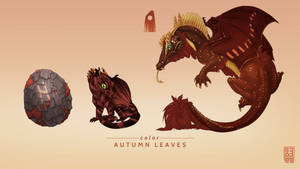 Autumn Leaves Exclusive Dragon by Shapooda
