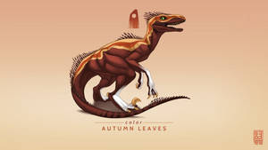 Autumn Leaves Exclusive Raptor by Shapooda