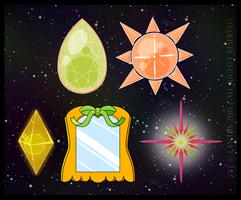 Sailor Galactic Sol Item Set by iLantiis