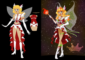 Sailor Galactic Sol: Before and After by iLantiis