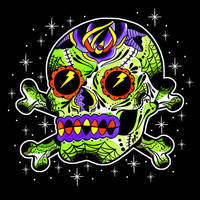 Sourpuss Sugar Skull by MummysLittleMonster