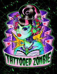 Tattooed Zombie by MummysLittleMonster