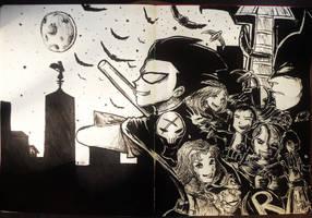 Teen Titans Robin by GrayHugh