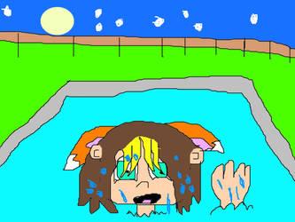 Sho In A Pool by shobaro