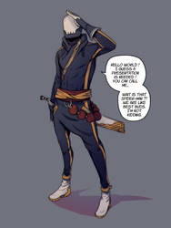PROJECT EIDOLON // Keung's Suit by NixxusNibelheim
