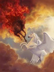Fire vs. Light by www-PaulPederson-com