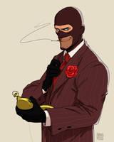 Spy sketch by KRedous