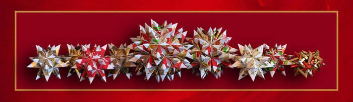 Christmas Origami by italo