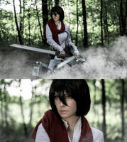 Mikasa Ackerman by AlexReiss